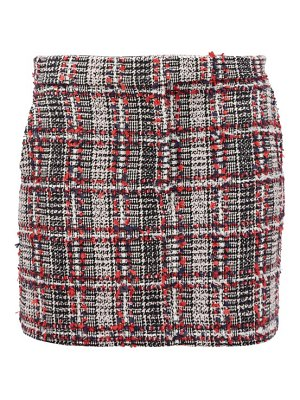 Thom Browne prince of wales-checked tweed mini skirt