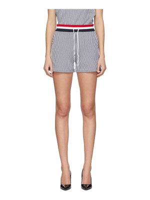 Thom Browne ssense exclusive navy striped shorts