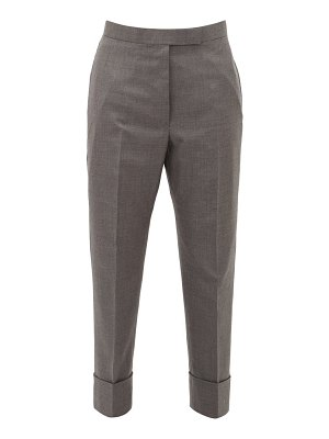 Thom Browne tailored wool-twill trousers