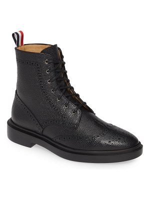 Thom Browne wingtip boot