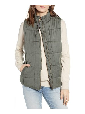 Thread & Supply kensington quilted vest