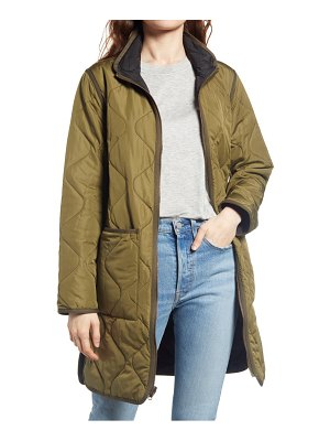 Thread & Supply nixie reversible quilted jacket