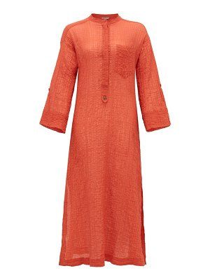 THREE GRACES LONDON august cotton-blend voile kaftan