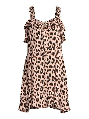 TIARE HAWAII beatrice leopard-print dress