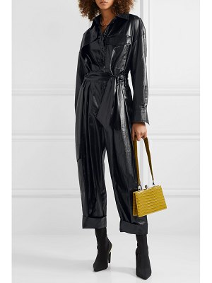 Tibi belted shell jumpsuit
