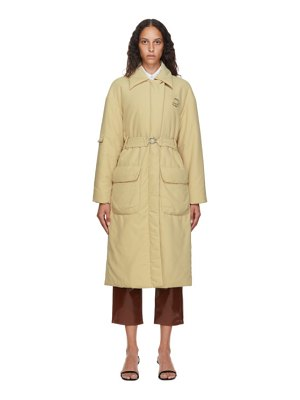Tibi clyde padded trench coat