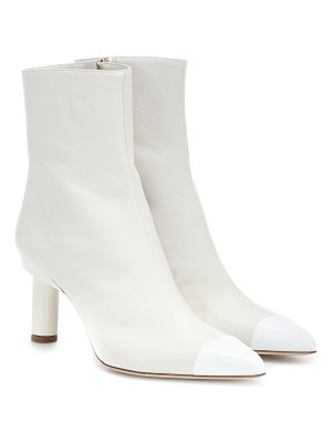 Tibi grant leather ankle boots