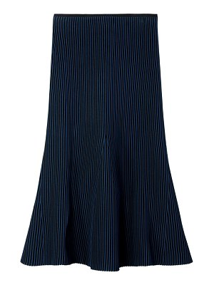 Tibi ribbed midi skirt