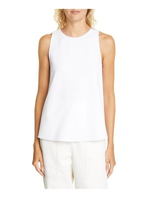 Tibi twist back crepe tank