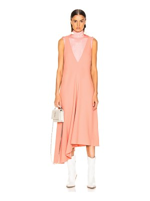 Tibi v-neck draped jumper