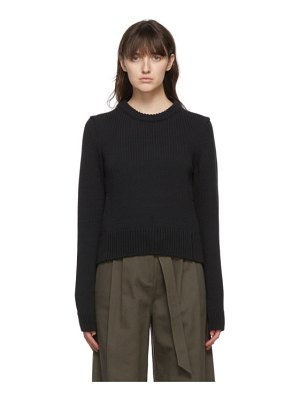 Tibi yarn shrunken sweater