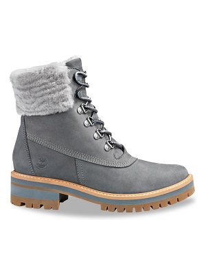 Timberland courmayeur valley waterproof shearling-lined suede hiking boots