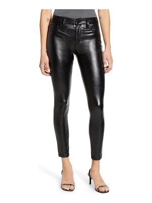 Tinsel coated skinny jeans
