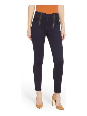 Tinsel double zip skinny jeans