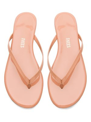 TKEES foundations gloss flip flop