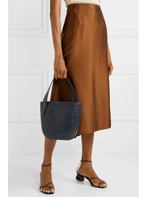 TL-180 le panier saigon woven leather shoulder bag