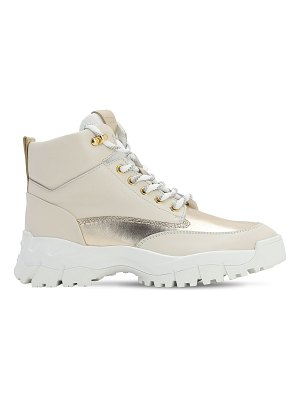 Tod's 40mm leather high top sneakers