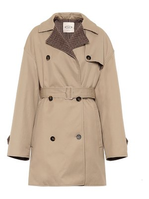 Tod's cotton-blend trench coat