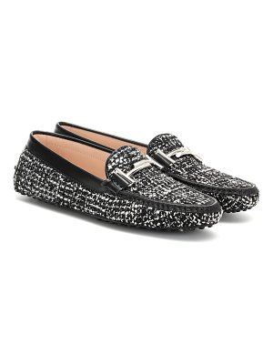 Tod's exclusive to mytheresa – gommino tweed loafers