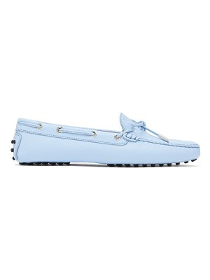 Tod's gommini grained-leather loafers