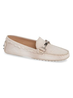 Tod's gommino double t loafer
