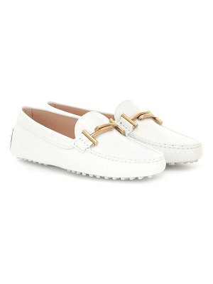 Tod's Gommino patent leather loafers