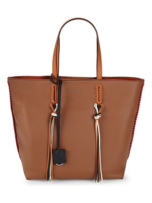 Tod's Gypsey Leather Media Tote Bag