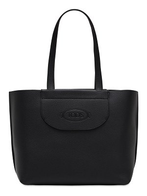 Tod's Medium grained leather tote bag