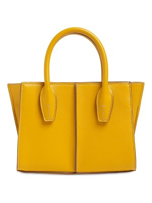 Tod's Mini lee leather shopping tote bag