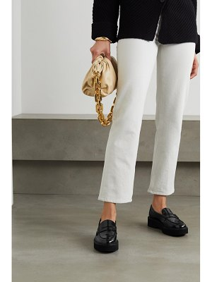 Tod's patent-leather platform loafers