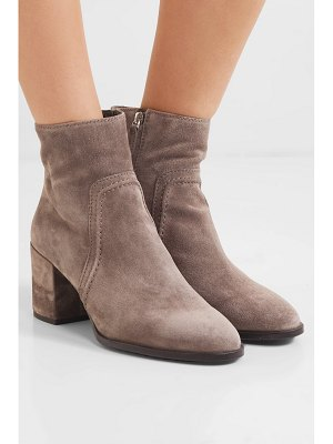 Tod's selleria suede ankle boots
