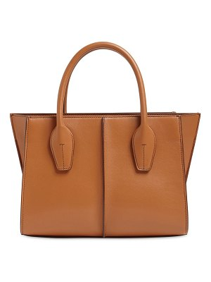 Tod's Small lee leather shopping tote bag