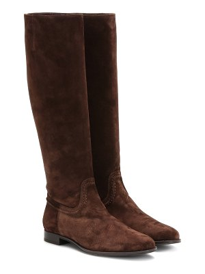 Tod's suede knee-high boots