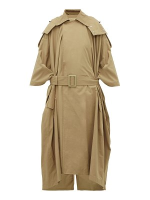 TOGA oversized belted trench coat