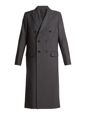 TOGA oversized double breasted pvc cut out coat