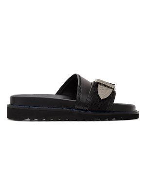 TOGA PULLA leather buckle sandals