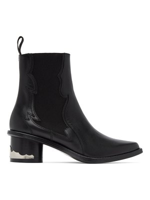 TOGA PULLA leather chelsea boots