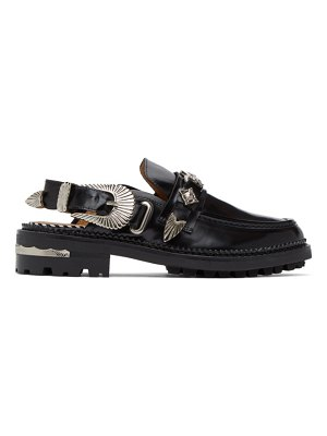 TOGA PULLA leather mule loafers
