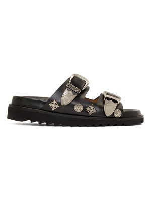 TOGA PULLA two buckle charms sandals