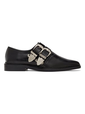 TOGA PULLA two-buckle western oxfords