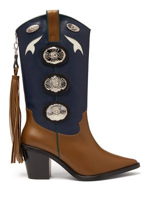 TOGA two-tone leather cowboy boots