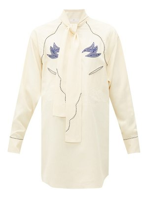 TOGA western embroidered blouse