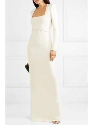 TOM FORD belted cady gown