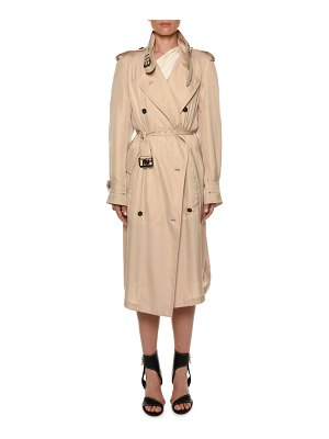 TOM FORD Belted Double-Breasted Trench Coat