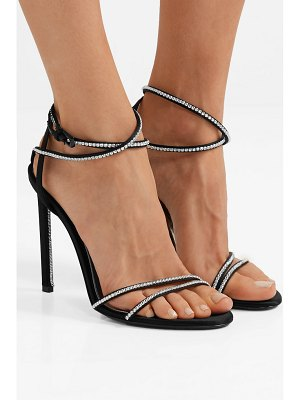 TOM FORD crystal-embellished satin sandals