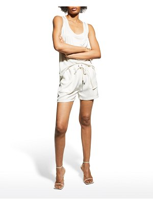 TOM FORD Heavy Twill Relaxed Shorts