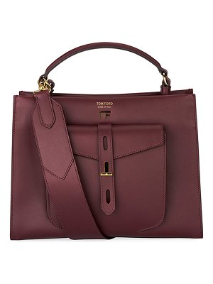 TOM FORD Hollywood Natural Top Handle Bag