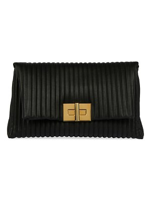 TOM FORD Quilted Leather Turn-Lock Clutch Bag