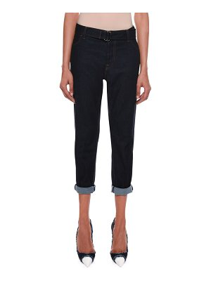 TOM FORD Rolled-Cuff Cropped Jeans