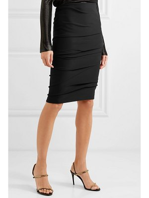 TOM FORD ruched stretch-jersey skirt